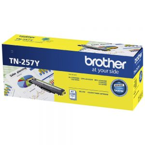 Brother-TN-257Y-Brother TN-257Y Yellow High Yield Toner Cartridge to Suit -  HL-3230CDW/3270CDW/DCP-L3015CDW/MFC-L3745CDW/L3750CDW/L3770CDW (2