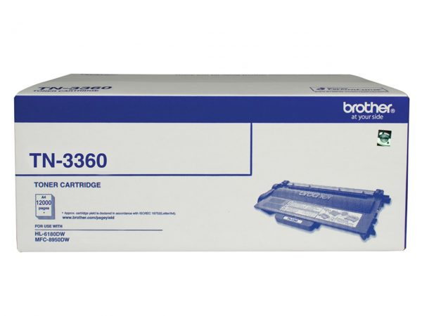 Brother-TN-3360-Brother TN-3360 Mono Laser Toner - Super High Yield (12000 pages) - HL-HL-6180DW  MFC-8950DW *B2B Exclusive*