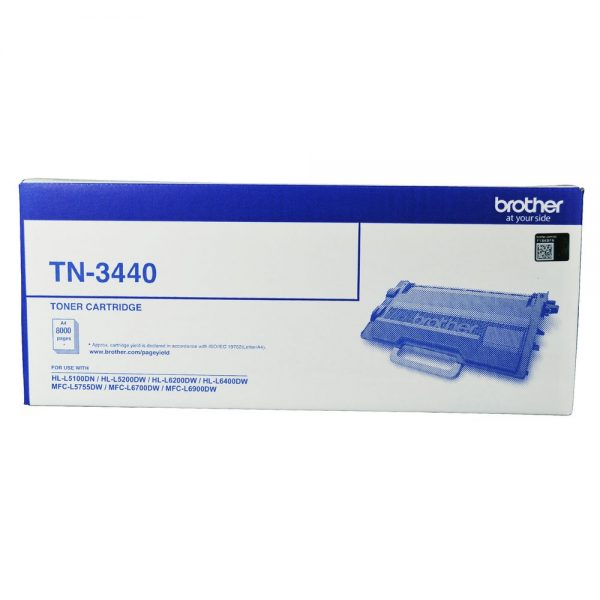 Brother-TN-3440-Brother TN-3440 Mono Laser Toner - High Yield- HL-L5100DN