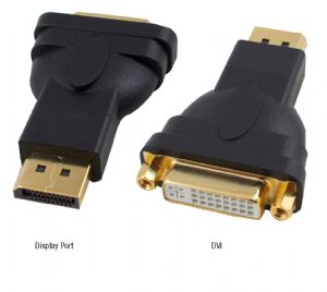 Cabac-HDPMDVIF-Hypertec Display Port M to DVI F Male to Femal 1.1a compliant