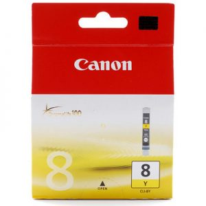 Canon-CLI8Y-Canon CLI8Y Yellow ink Cartridge for ip4200