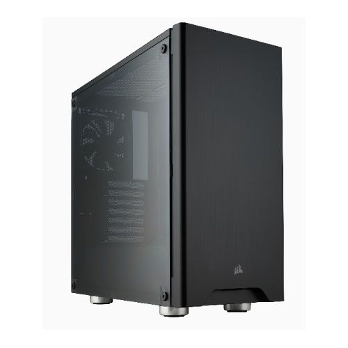 Corsair-CC-9011130-WW-Corsair Carbide 275R Black ATX Mid-Tower Case. Side Window. No Top magnetic mesh filter. Two Years Warranty (LS)