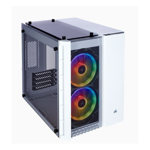 Corsair-CC-9011137-WW-Corsair Crystal Series 280X RGB Tempered Glass Micro-ATX