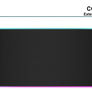 Corsair-CH-9417070-WW-Corsair MM700 RGB POLARIS - Dynamic Three Zone RGB and low friction micro-texture surfacet  for Ultimate Gaming Setup.930mm x 400mm x 4mm Mousemat