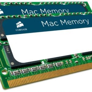 Corsair-CMSA16GX3M2A1600C11-Corsair 16GB (2x8GB) DDR3L SODIMM 1600MHz 1.35V Memory for MAC Notebook Memory RAM