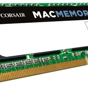 Corsair-CMSA4GX3M1A1066C7-Corsair 4GB (1x4GB) DDR3 SODIMM 1066MHz 1.5V Memory for MAC Notebook Memory RAM