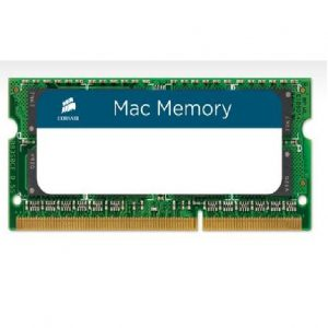 Corsair-CMSA8GX3M2A1333C9-Corsair 8GB (2x4GB) DDR3 SODIMM 1333MHz 1.5V Memory for MAC Notebook Memory RAM