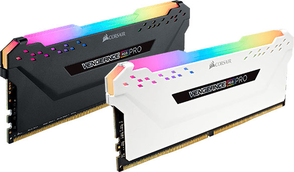 Corsair-CMWLEKIT2-Corsair Vengeance RGB PRO Light Enhancement Kit Black - No DRAM Memory  are Meant for Aesthetic Use Only