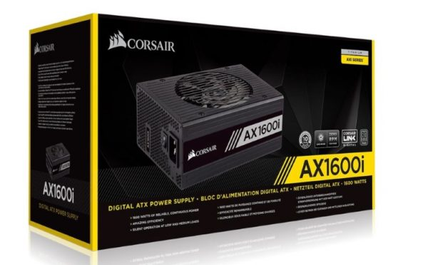Corsair-CP-9020183-AU-Corsair 1600W AX 80+ Titanium Digital Fully Modular 140mm FAN