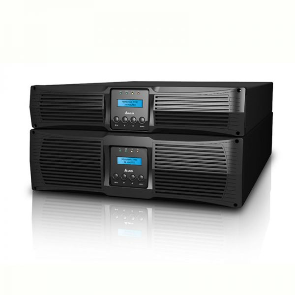 Delta-GES602R212035-Delta Amplon RT-Series 6kVA On-Line UPS 2U Rackmount (must sell with external battery  pack)