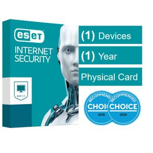 Eset-AV-ESISOEM-1D1Y-ESET Internet Security (Advanced Protection) OEM 1 Device 1 Year Download - Includes 1x Physical Printed Download Card