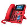 "Fanvil-X5U-R-Fanvil X5U-RED High End Enterprise IP Phone - 3.5"" Colour Screen"