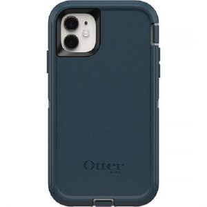 Generic-77-62459-OtterBox Defender Series Case for Apple iPhone 11 - Gone Fishin Blue