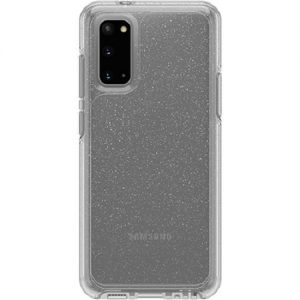Generic-77-64197-OtterBox Symmetry Series Clear Case For Samsung Galaxy S20 5G Stardust Glitter- Thin