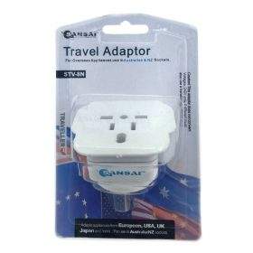 Generic-STV-8N-Sansai Travel Adaptor for 240V equipment from Britain