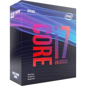 Intel-BX80684I79700KF-Intel Core i7-9700KF 3.6GHz (4.9GHz Turbo) LGA1151 9th Gen 8-Cores 8-Threads 12MB 8GT/s 95W Dedicated Graphics Required Retail Box 3yrs