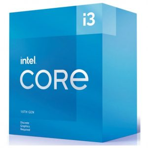 Intel-BX8070110105F-New Intel i3-10105F CPU 3.7GHz (4.4GHz Turbo) 10th Gen LGA1200 4-Cores 8-Threads 6MB 65W Graphic Card Required Box 3yrs Comet Lake Refresh