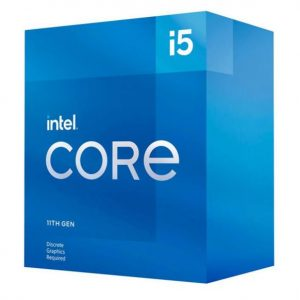 Intel-BX8070811400F-New Intel i5-11400F CPU 2.6GHz (4.4GHz Turbo) 11th Gen LGA1200 6-Cores 12-Threads 12MB 65W Graphic Card Required Retail Box 3yrs Rocket Lake