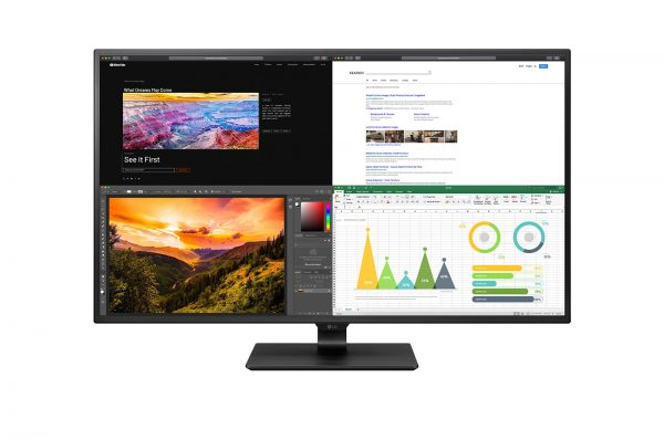 "LG-43UN700-B-LG 43"" IPS 5ms 60Hz 4K UHD IPS USB-C HDR 10 Monitor"