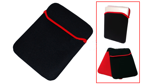 """Leader-NAL-T10SLEEVE-Tablet 10"""" Sleeve Black Case Folio for any 9.7""""/10"""" tablet"""