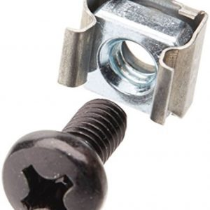 LinkBasic-PP-NUT-Linkbasic/LDR M6 Cagenut Screws and Fasteners For Network Cabinet - single unit only - CAA-M6SCREW CAH-CAGENUT-40