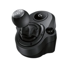 Logitech-941-000132-Logitech Driving Force Shifter for G29 and G920 Racing Wheels Six-Speed Shifter with Push-down reverse Secure mounting