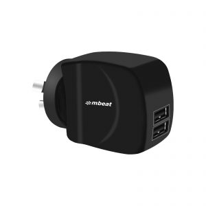 MBEAT-MB-CHGR-DP2-mbeat® Gorilla Power Duo 3.4A Dual USB Ports Smart Charger - Charge 2 Smartphones or Tablets Simultaneously (LS)--replacement MB-CHGR-PQC18B
