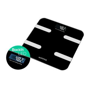"""MBEAT-MB-SCAL-BT01-mbeat® """"actiVIVA"""" Bluetooth BMI and Body Fat Smart Scale with Smartphone APP"""