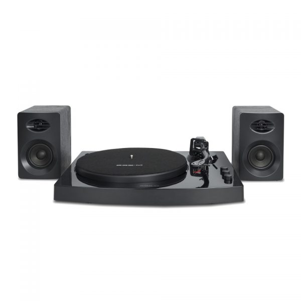 MBEAT-MB-TR518 K-mbeat® Pro-M Bluetooth Stereo Turntable System (Black) - Vinyl Turntable Record Player