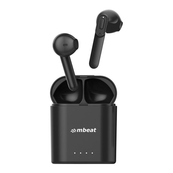 MBEAT-MB-TWS-E1-mbeat® E1 True Wireless Earbuds - Up to 4hr Play time