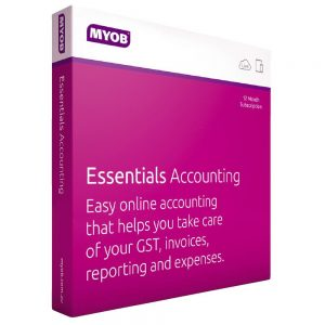 MYOB-LVPAY-90TD-RET-AU-ESSACCPAY-TD-MYOB Essentials Accounting with Payroll 3 Months Test Drive