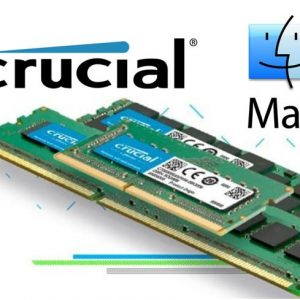 Micron (Crucial)-CT16G4S24AM-Crucial 16GB (1x16GB) DDR4 SODIMM 2400MHz for MAC Single Stick Desktop for Apple Macbook Memory RAM
