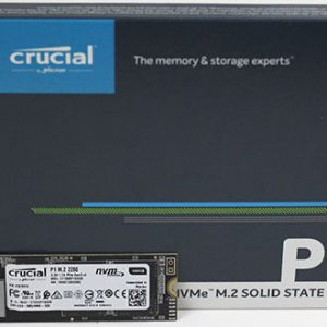 Micron (Crucial)-CT500P1SSD8-Crucial P1 500GB M.2 PCIe NVMe SSD 1900/950 MB/s R/W 100TBW 1.8mil hrs MTTF Acronis True Image Cloning Software 5yrs wty