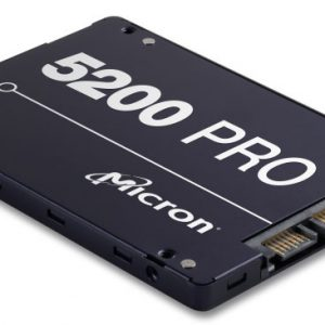 """Micron (Crucial)-MTFDDAK960TDD-1AT16ABYY-Micron 5200 PRO 960GB 2.5"""" SATA3 6Gbps 2DWPD SSD 3D TLC NAND 540R/520W MB/s 95K/32K IOPS 7mm Server Data Centre 3 Mil hrs 5yrs Crucial LS"""
