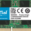 Micron (Crucial)-P-CT8G4SFRA266-P-Crucial 8GB (1x8GB) DDR4 SODIMM 2666MHz CL19 1.2V Notebook Laptop Memory RAM