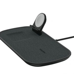 Mophie-409903656-Mophie 7.5W 3-in-1 Fast Wireless Charger Pad Black- For Apple Devices