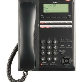 NEC-BE116515-NEC - Digital 12 Button Tel (Black)