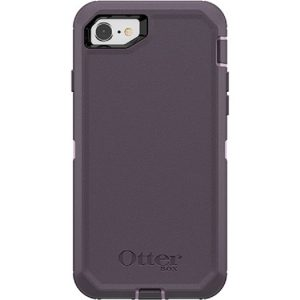 Otterbox-77-56605-OtterBox Apple iPhone SE (2nd gen) and iPhone 8/7 Defender Series Case - Purple Nebula
