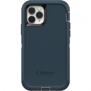 Otterbox-77-62521-OtterBox Apple iPhone 11 Pro Defender Series Screenless Edition Case - Gone Fishin Blue