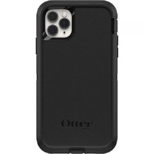 Otterbox-77-62581-OtterBox Apple iPhone 11 Pro Max Defender Series Screenless Edition Case (77-62581) - Black - Screenless design provides flawless touch response