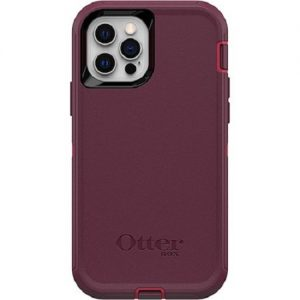 Otterbox-77-65403-Otterbox Apple iPhone 12 and iPhone 12 Pro Defender Series Case - Berry Potion Pink