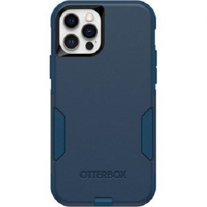 Otterbox-77-65406-Otterbox Apple iPhone 12 and iPhone 12 Pro Commuter Series Case - Bespoke Way Blue