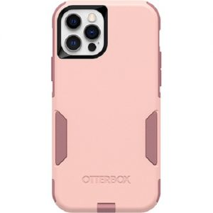 Otterbox-77-65407-Otterbox Apple iPhone 12 and iPhone 12 Pro Commuter Series Case - Ballet Way Pink