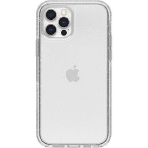 Otterbox-77-65423-Otterbox Apple iPhone 12 and iPhone 12 Pro Symmetry Series Clear Case - Stardust Glitter