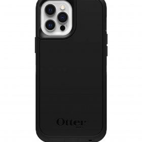 Otterbox-77-80139-Otterbox Symmetry Series+ Case (Magsafe) for Apple iPhone 12 Pro Max - Black