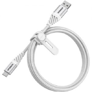Otterbox-78-52667-OtterBox USB-A To USB-C 1 Meter USB 2.0 Cable - Premium - Cloud White ( USB A to USB C ) - Rugged