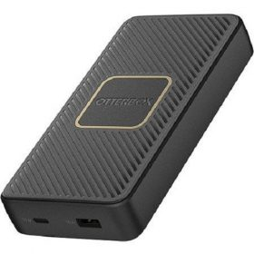 Otterbox-78-52704-OTTERBOX 15K MAH POWER BANK + WIRELESS CHARGER - USB A  C PD 18W +10W TWILIGHT - BLACK
