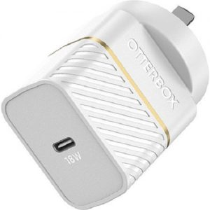 Otterbox-78-80028-OtterBox USB-C Fast Charge Wall Charger (Type I) - 18W -  Cloud Dust White