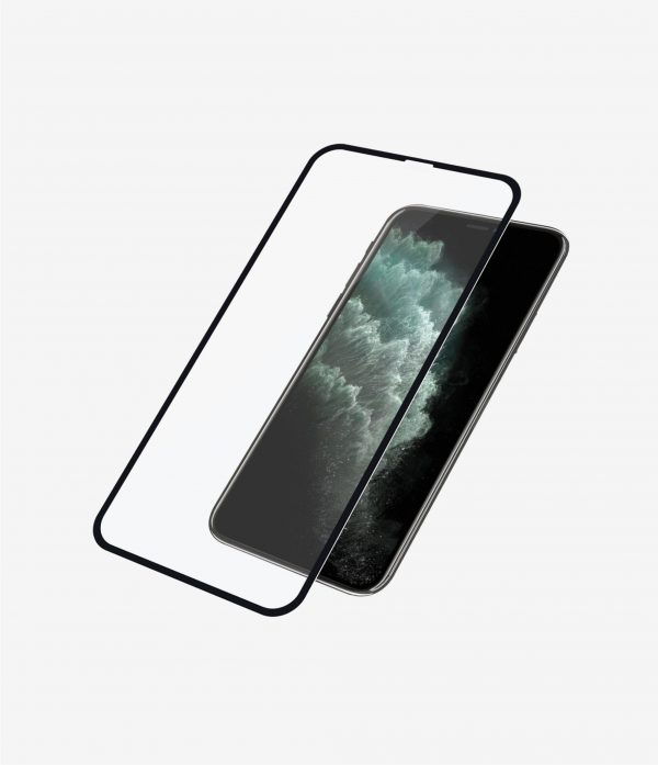 Panzer Glass-2666-PanzerGlass Edge-to-Edge Screen Protector for Apple iPhone Xs Max / iPhone 11 Pro Max - Black - Full frame coverage