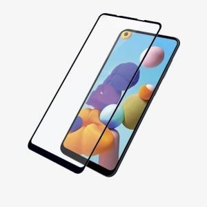 Panzer Glass-7235-PanzerGlass Screen Protector - Case Friendly - For Samsung Galaxy A21s - Full Frame Coverage